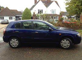 NISSAN ALMERA 2004 LOW MILEAGE CLEAN RELIABLE CAR WITH 8 MONTHS MOT