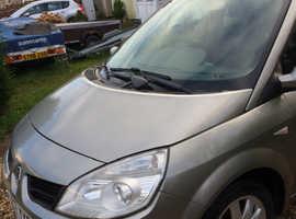 Renault Megane, 2007 (07) Grey MPV, Manual Diesel, 134,500 miles