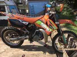 KTM 85 MOTO CROSS BIKE