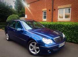 """2007 07 REG Mercedes-Benz C Class 2.1 C220 CDI Avantgarde SE Auto 5dr """" ESTATE """" HPI CLEAR """""""