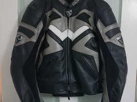 Ladies Leather Motorcycle Jacket IXS