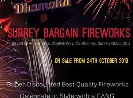Quality FIREWORKS @ Bargain prices