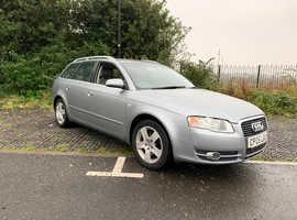 Audi A4, 2005 (05) Grey Estate, Manual Diesel, 164,000 miles