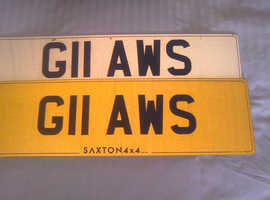 Gloucester Rugby, Football & Cricket Personal Registration Plate