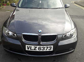 BMW 3 Series, 2006 (06) Grey Saloon, Manual Diesel, 90,000 miles