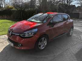 Renault Clio, 2013 (63) Red Hatchback, Manual Diesel, 19,000 miles