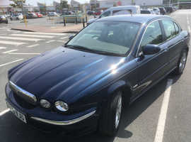 Jaguar X-TYPE, 2006 (56) Blue Saloon, Automatic Petrol, 73,800 miles
