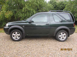 Land Rover Freelander, 2004 (04) with removable hard top and soft top, fun car