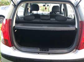 Hyundai i10, 2009 (09) Silver Hatchback, Manual Petrol, 25,000 miles