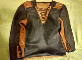 biker leather shirt, cooler and safer than a T-Shirt, Tarmac V skin Tarmac wins, cool not fool