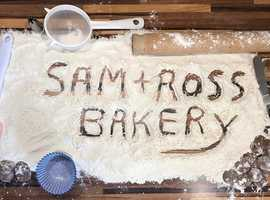 Sam and Ross' Bakery is a home run baking business in Cambridgeshire: cake decorating, a range of baked goods