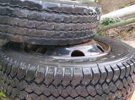 205 / 75R 17.5 truck wheels.