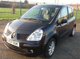 Renault Modus, 2007 (07) Black Hatchback, Automatic Petrol, 32,128 miles