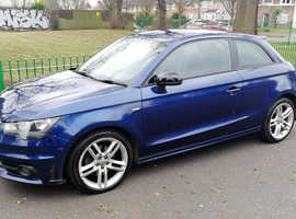 Audi A1, 2011 (61) Blue Hatchback, Manual Diesel, 130,789 milesAUDI A1 S LINE TDi 2011 REG, LONG MOT, FULL SERVICE HISTORY & RECENT NEW CAMBELT & FREE