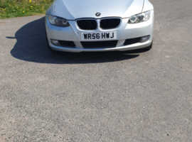 BMW 3 Series, 2006 (56) Silver Coupe, Manual Petrol, 209,000 miles