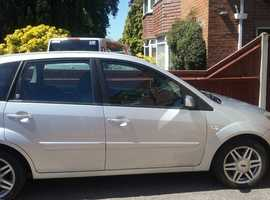 Ford Fiesta, 2007 (57) Silver Hatchback, Manual Petrol, 90,000 miles