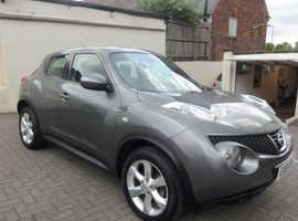 Nissan Juke, 2011 (61) Grey Hatchback, Cvt Petrol, 32,000 miles