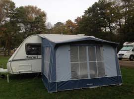 Abbey Safari single axle touring caravan 2008.