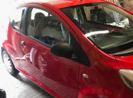 Citroen C1, 2008 (08) Red Hatchback, Manual Petrol, 94,000 miles