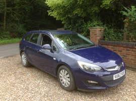 Vauxhall Astra, 2013 (62) Blue Estate, Manual Diesel, 64,000 miles