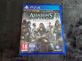 Assassins Creed Syndicate PlayStation 4 Game