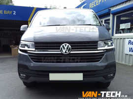 VW T6 Parts and Accessories Side Bars Roof Rails Spoiler