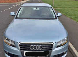 Audi A4, 2008 (08) Blue Saloon, Manual Diesel, 170,000 miles