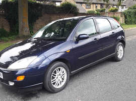 Ford Focus ghia 12 months mot drives fine