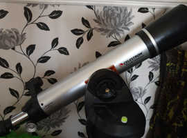 Lovely celestron 90 LCM telescope