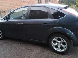 Ford Focus, 2008 (58) Grey Hatchback, Manual Petrol, 107 miles