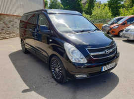 HYUNDAI I800 2.5CRDI 168PS 5 SPEED MANUAL, 2012, SPECIAL NERO EDITION by Wellhouse.