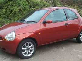 Ford Ka, 2007 (57) Red Hatchback, Manual Petrol, 68,305 miles