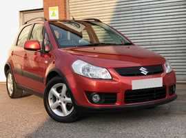 Suzuki SX4 1.6 GLX, 5 Door in Metallic Orange. Fabulous Condition Throughout, No Advisories on MOT