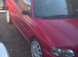 Ford Escort, 1997 (R) Red Convertible, Manual Petrol, 15,000 miles