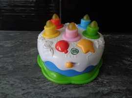 leapfrog birthday cake