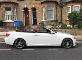 BMW 3 Series, 2008 (58) White Convertible, Manual Petrol, 118,243 miles