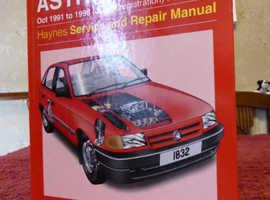 Haynes service and repair manual
