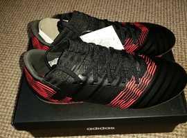 854a9acbbfbbda NEW Adidas Nemeziz 17.3 FG Football Boots Core Black Core Black Solar Red  UK. 8