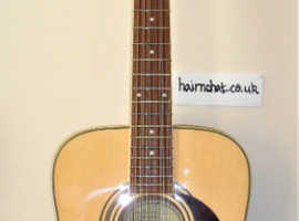 "EPIPHONE  12 String Acoustic. ""as-new"" Epiphone D212 N  (New, tuned, tested, strings relaxed and kept boxed)"