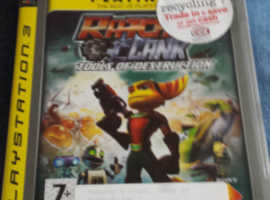 PlayStation 3 Ratchet and Clank Tools Of Destruction Game | PS3 Game