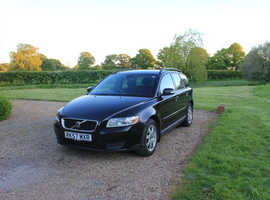 Volvo S40/V50 SERIES, 2008 (57) Black Estate, Manual Petrol, 112,000 miles