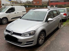 Volkswagen Golf, 2015 (65) Silver Estate, Manual Diesel, 87,000 miles