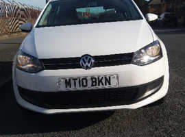 Volkswagen Polo, 2010 (10) White Hatchback, Manual Petrol, 83,000 miles