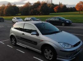 Ford Focus, 2003 (03) Silver Hatchback, Manual Petrol, 130,000 miles