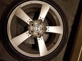 Mazda RX8 Alloy and Bridgestone Potenza REO 40 excellent condition