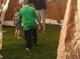 8-10 berth frame tent