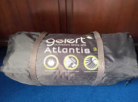 Strike it lucky andGetaway this summer -with Gelert 3 man tent