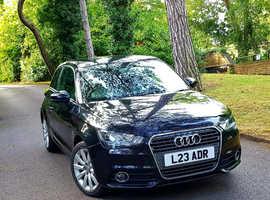 Audi A1, 2012 (61) Black Hatchback, Semi auto Petrol, 77,163 miles