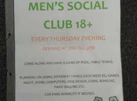 Men's social group