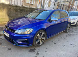 Volkswagen Golf, 2017 (17) Blue Hatchback, Manual Petrol, 33,000 miles